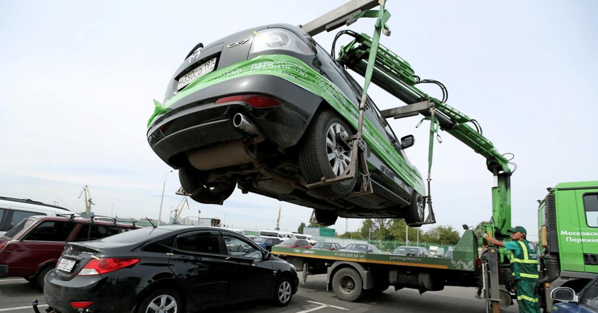 Как быть, если автомобиль заблокировали на парковке?