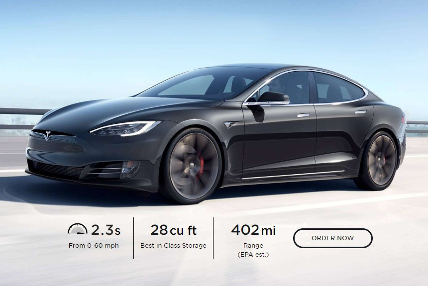 Доработанная Tesla Model S: почти 650 км на одной зарядке