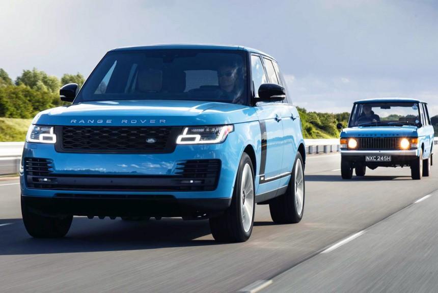 Range Rover Fifty: спецверсия к 50-летию бренда