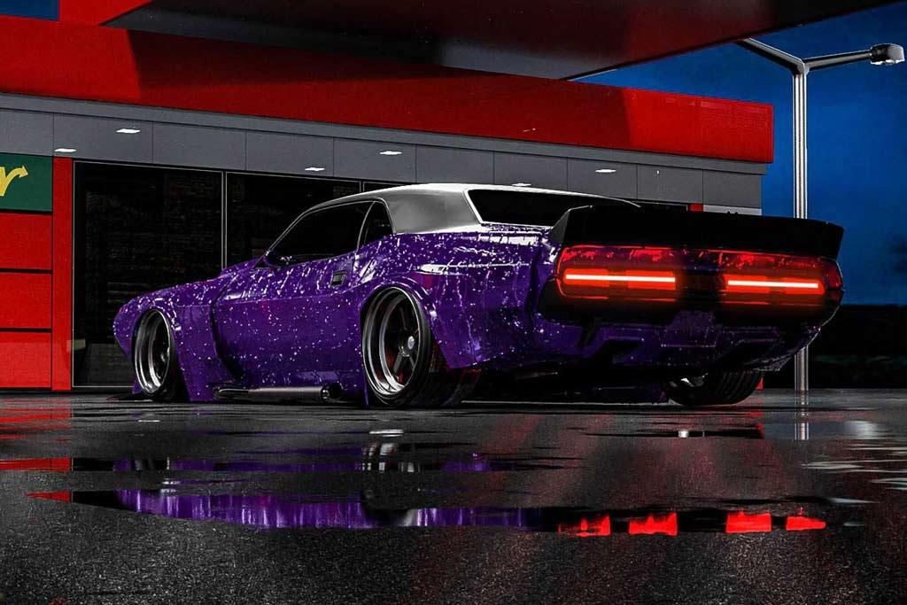 Рестомод Highway Star: кузов Challenger на шасси Вайпера и мотор V8 Hellcat