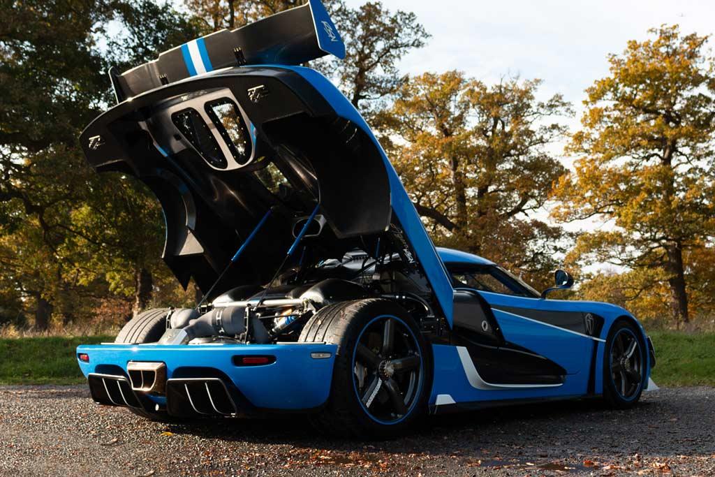 Заказал под себя, а теперь продает: эксклюзивный Koenigsegg Agera RSN за 350 млн рублей