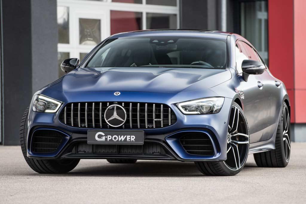 В ателье G-Power выжали 800 «лошадок» из Mercedes-AMG GT 63 S: плюс диски за 700 000 р