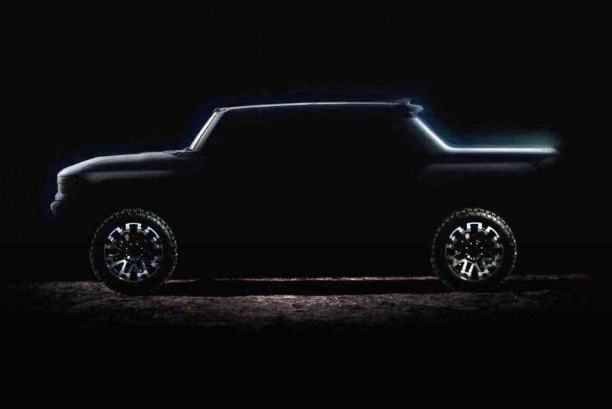 Пикап GMC Hummer представят осенью, будет и внедорожник