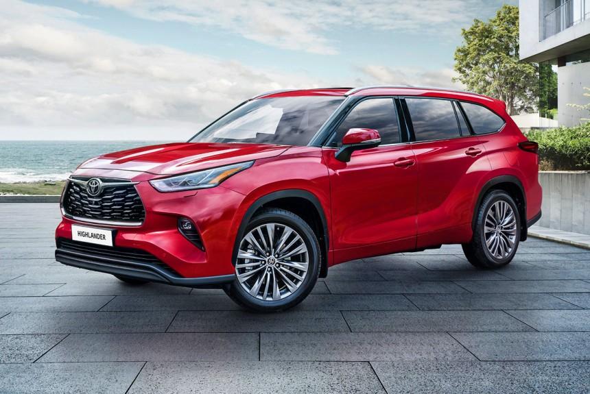 Кроссовер Toyota Highlander нового поколения: цены в России
