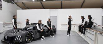 Видео: Гиперкар Peugeot 9X8, созданный для Ле-Мана