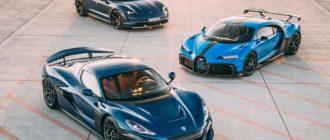 Новыми владельцами Bugatti станут хорваты из компании Rimac Group