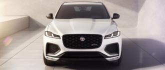 Jaguar улучшил кроссовер F-Pace и анонсировал его новую версию