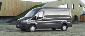 Фургоны Ford Transit начали раздавать в России по подписке