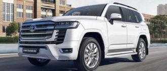 Объявлены цены на Toyota Land Cruiser 300 с турбодизелем