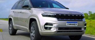Для Латинской Америки готовится другой Jeep Commander