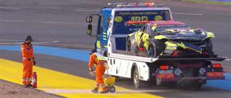 Ле-Ман: Первый сход произошёл на четвертом часу гонки