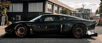 Итальянцы представили легкий трековый суперкар ATS RR Turbo Serie Carbonio