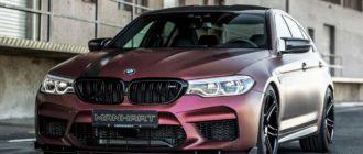 Тюнеры из ателье Manhart «прокачали» BMW M5 (F90) до 800 л.с.
