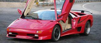 Ставка за хорошо сохранившийся Lamborghini Diablo SV перевалила ₽16 млн