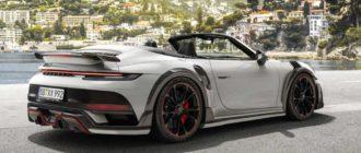 Кабриолет Porsche 911 Turbo получил модификацию GTstreet R от ателье TechArt