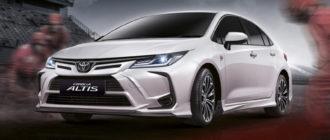 У седана Toyota Corolla появилась версия в честь Нюрбургринга