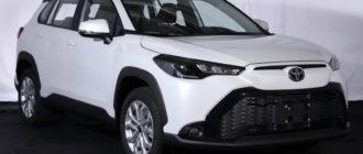 Toyota Frontlander станет разновидностью модели Corolla Cross