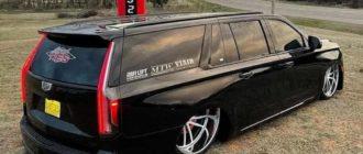 Для превращения Cadillac Escalade в лоурайдер пришлось перекроить всю ходовую