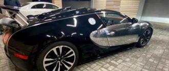 В Москве на продажу выставили гиперкар Bugatti Veyron: цена вопроса 110 млн рублей